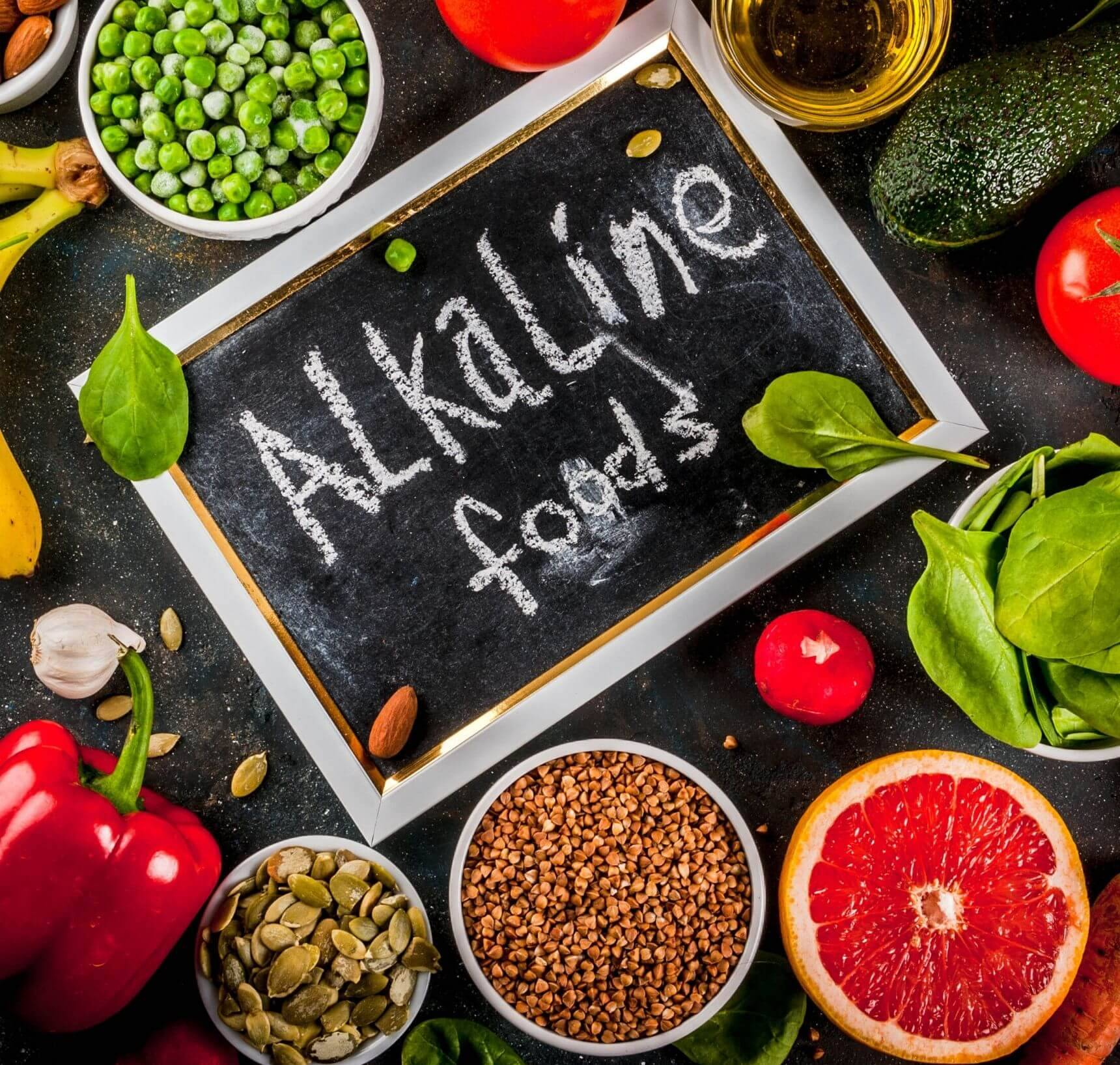 Alkalische voeding