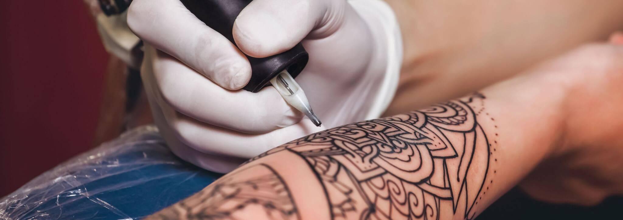tattoeages infectie