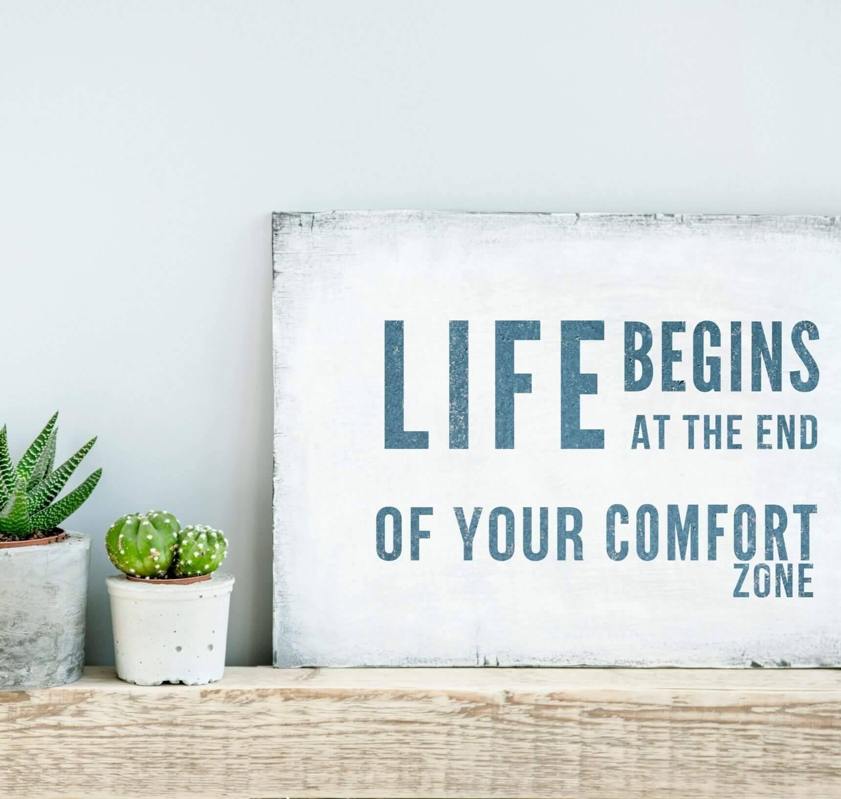 buiten de comfortzone