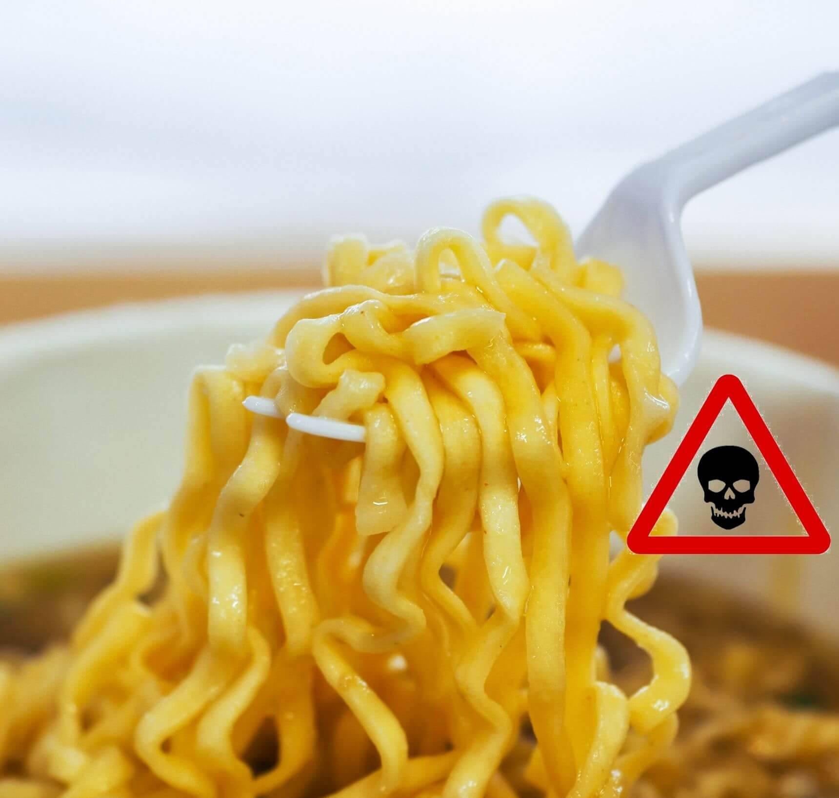 Noodles slecht